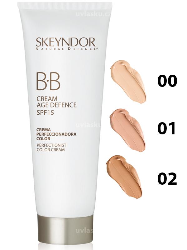 Skeyndor NATURAL DEFENCE BB Cream Age Defence SPF15 – multifunkční krém pro všechny typy pleti 40ml 00 - velmi světlá pleť