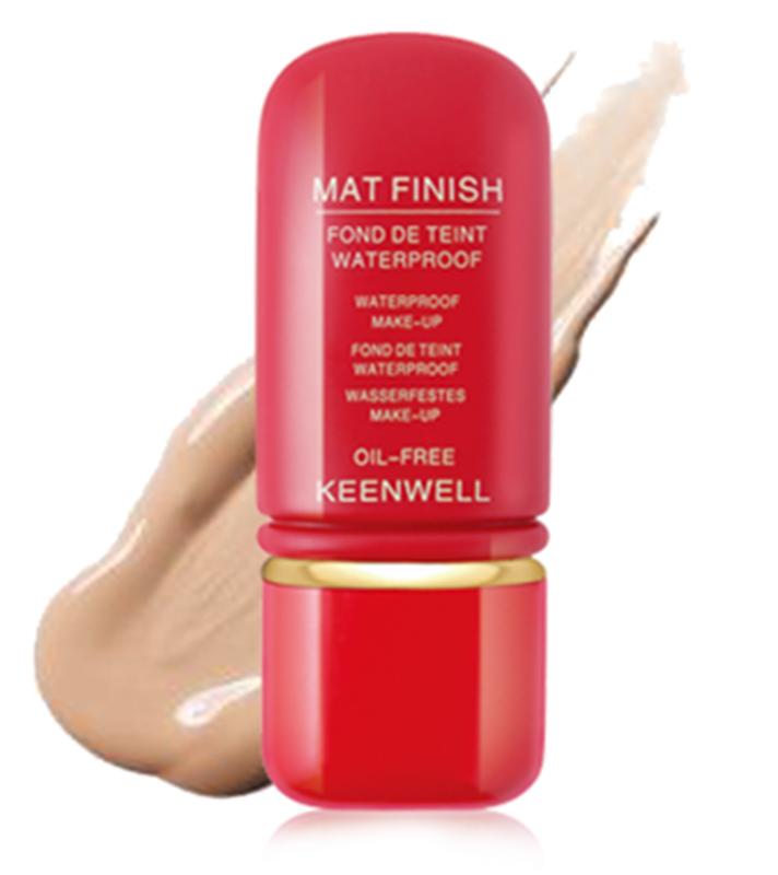 Keenwell Mat Finish - voděodolný make-up s matovým efektem č.01 50ml