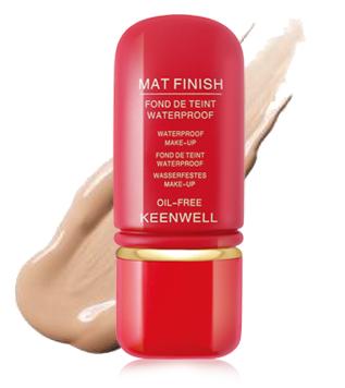 Keenwell Mat Finish - voděodolný make-up s matovým efektem č.1 50ml
