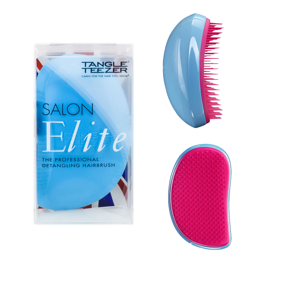 Tangle Teezer Salon Elite Blue Blush - kartáč na vlasy 1ks