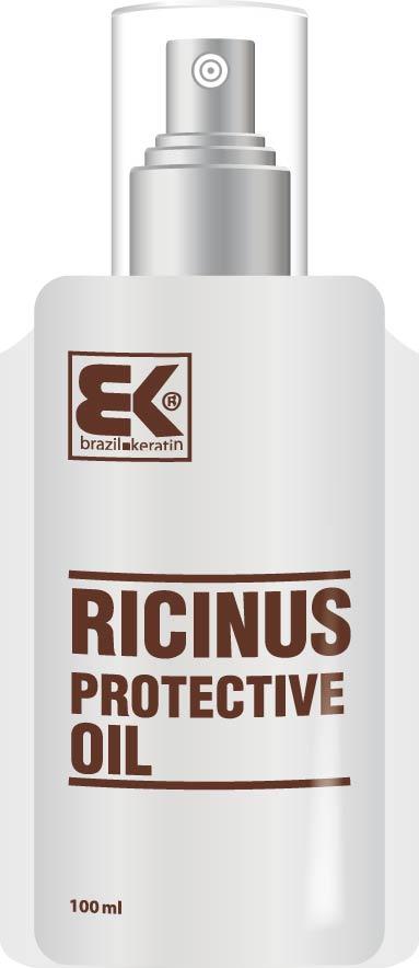 Brazil Keratin Ricinus Protective Oil - ricinový olej 100ml
