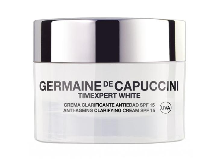 Germaine de Capuccini TIMEXPERT WHITE Clarifying Cream SPF15 - rozjasňující pleťový krém s anti-age účinkem 50ml