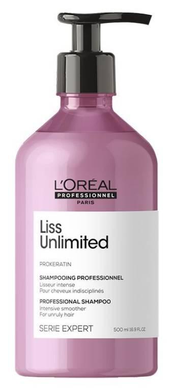 Loréal EXPERT Liss Unlimited Shampoo - uhlazující šampon pro nepoddajné a krepaté vlasy 250ml