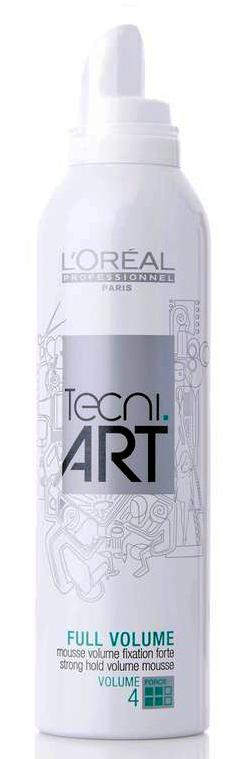 Loréal Professionnel Tecni.Art Full Volume Mousse - fixační pěna pro objem 250ml