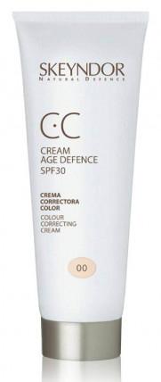 Skeyndor NATURAL DEFENCE CC Cream Age Defence SPF30 - multifunkční krém pro všechny typy pleti 40ml 00 - velmi světlá pleť