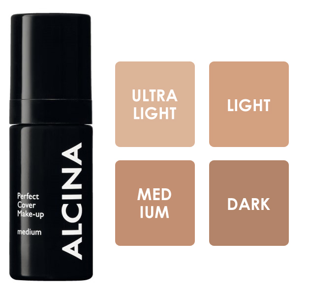 Alcina Perfect Cover Make-up - krycí make-up 30ml ultralight
