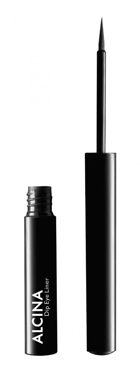 Alcina Dip Eye Liner Black - intenzivní černé linky na oči 1ks
