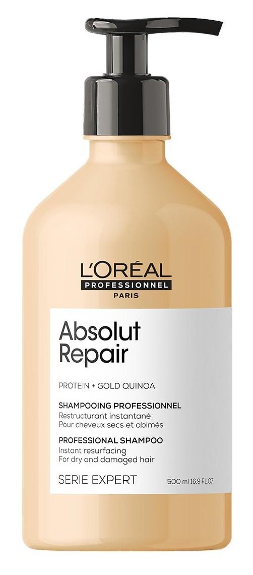 Loréal Professionnel Expert Absolut Repair Gold Quinoa + Protein - šampon pro velmi poškozené vlasy