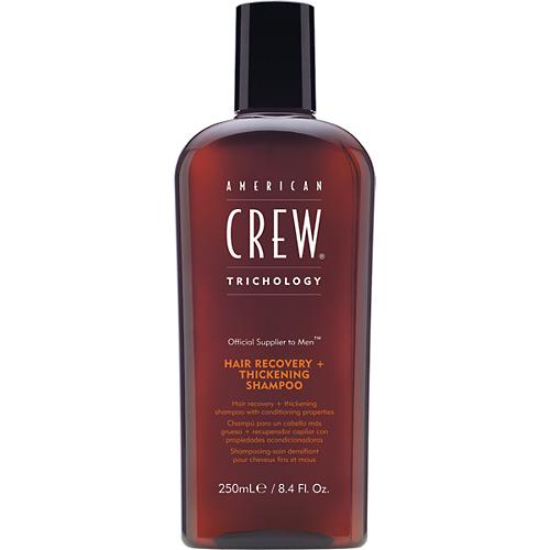 American Crew Classic Hair Recovery + Thickening Shampoo - pánský hydratační šampon proti padání vlasů 250ml