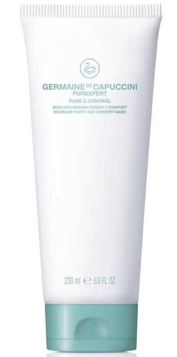 Germaine de Capuccini PUREXPERT Pure & Control Mask - hloubkově čistící jílová maska pro všechny typy pleti 200ml