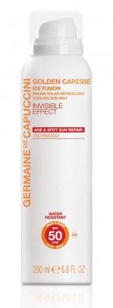 Germaine de Capuccini Golden Caresse - ochranný opalovací hydratační sprej 200ml Stupeň ochrany: SPF50
