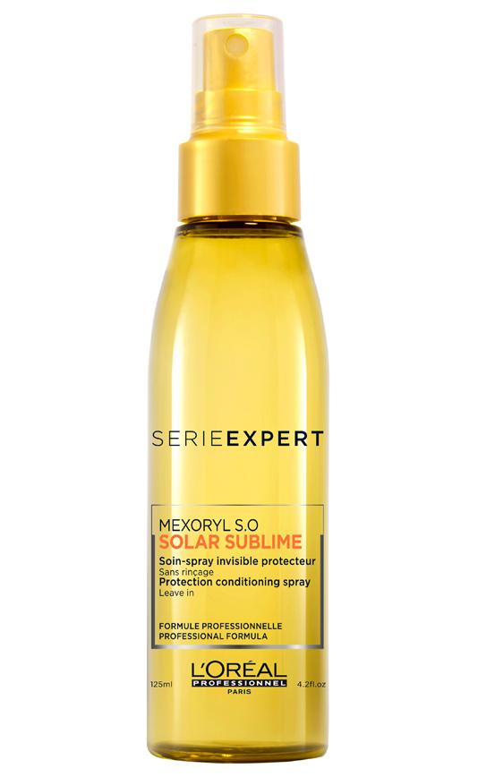 L'Oréal Série Expert Solar Sublime Conditioning Spray ochraný spray 125 ml