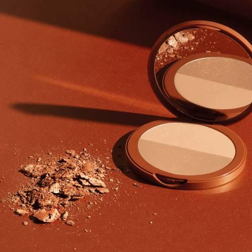 Germaine de Capuccini Bronze Illusion Powder SPF15 - pudr s bronzujícím efektem pro opálený vzhled 18g