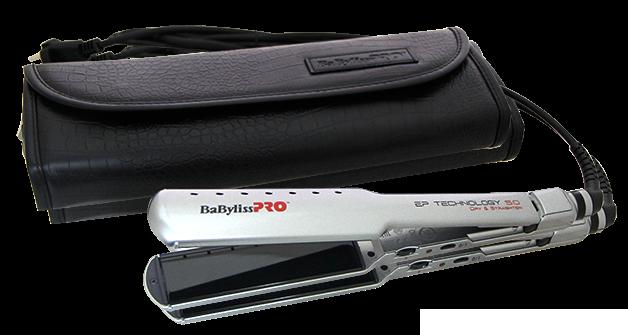 Babyliss Pro BAB2073EPE Dry & Straighten EP Technology 5.0 38 mm - titanová žehlička na mokré a suché vlasy