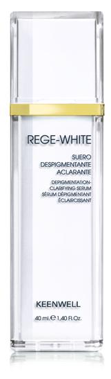 Keenwell REGE WHITE Depigmentation Clafirying Serum - depigmentační zesvětlující pleťové sérum 40ml