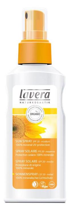 Lavera Sun Spray SPF20 - opalovací mléko ve spreji 125ml