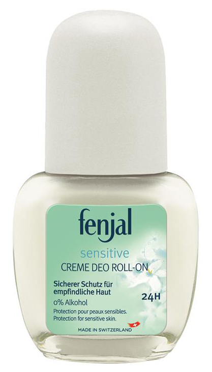 Fenjal Sensitive Creme Deo Roll-On – kuličkový krémový deodorant 50ml