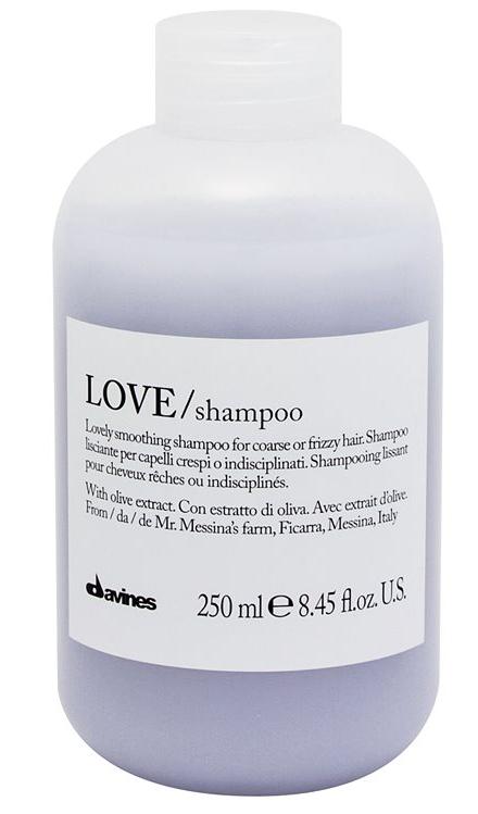 Davines Essential Love Smoothing - uhlazující šampon pro nepoddajné a krepaté vlasy 250ml