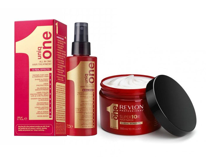 Uniq One All In One Set - regenerační sprej na vlasy 150ml + regenerační maska na vlasy 300ml