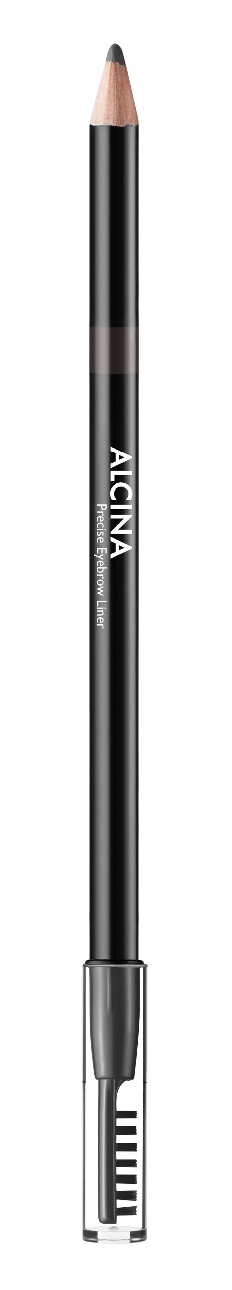 Alcina Precise Eyebrow Liner - tužka na obočí s kartáčkem 1ks dark