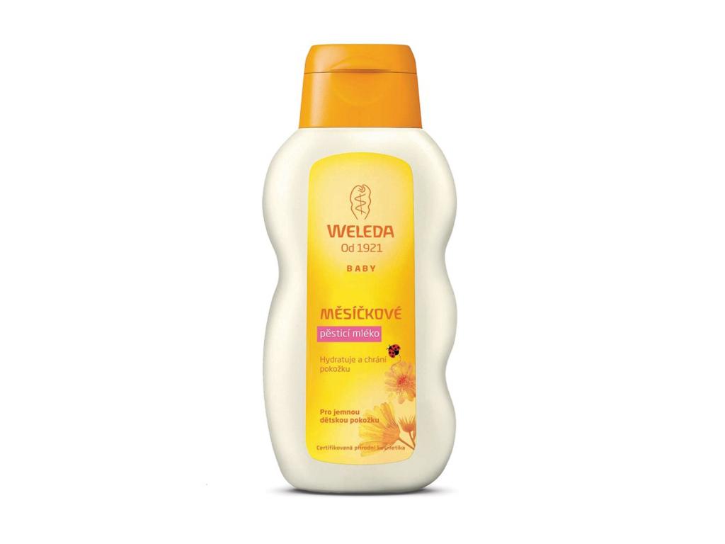 Weleda Calendula Baby Lotion - hydratační tělové mléko pro dětskou pokožku 200ml