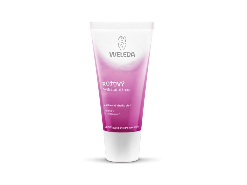 Weleda Wild Rose Smoothing Facial Cream - lehký hydratační krém pro normální a mastnou pokožku 30ml