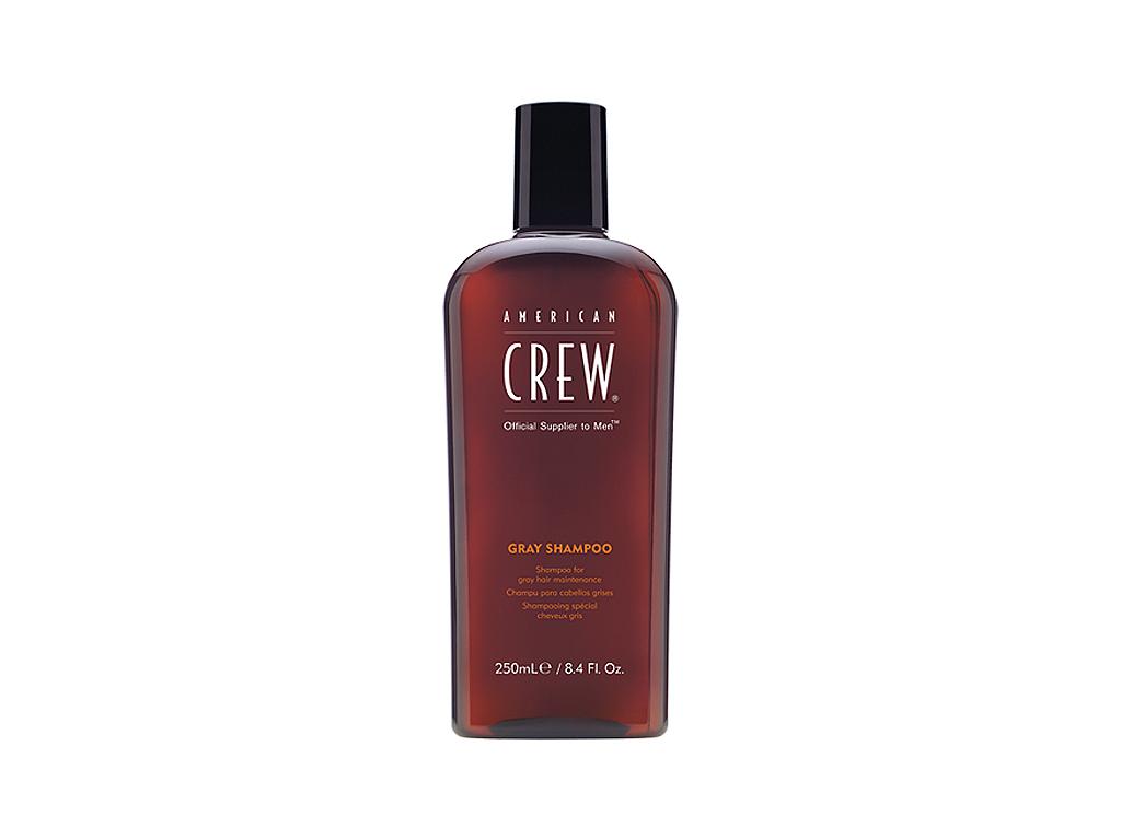 American Crew Classic Gray Shampoo - pánský šampon pro šedé a bílé vlasy 250ml