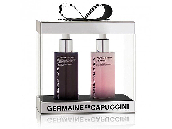 Germaine de Capuccini Timexpert Duo Set - noční regenerační sérum 50ml + rozjasňující sérum 50ml