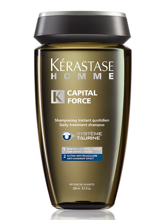 Kérastase Homme Capital Force (Daily Treatment Shampoo Anti-Dandruff Effect) 250 ml