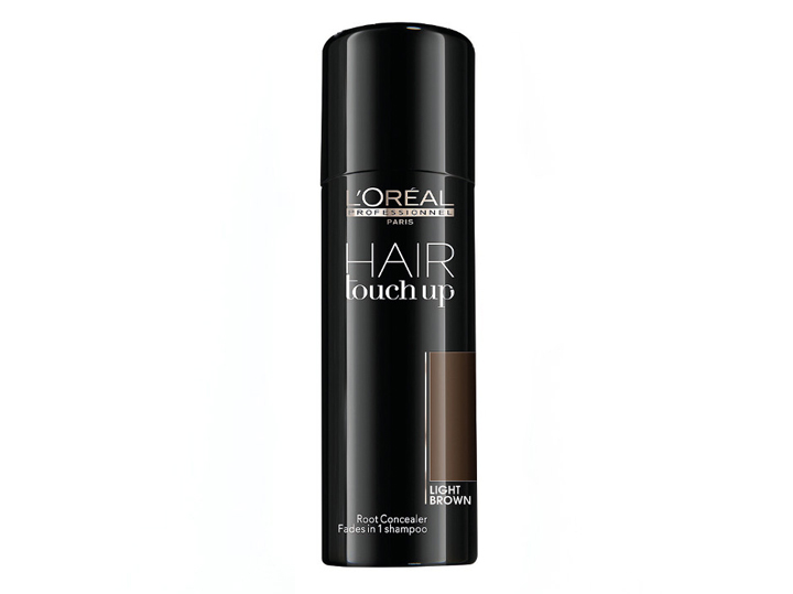 Loréal Professionnel Hair Touch Up - tónovací sprej na odrosty 75ml Barva: Light Brown