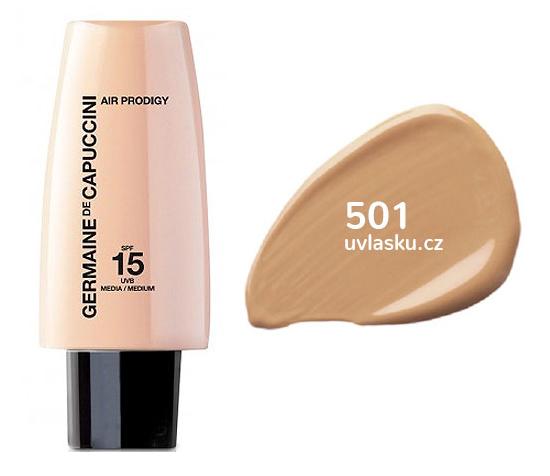 Germaine de Capuccini Amazonian - lehký fluidní make-up SPF15 30ml 502 Dark Nude