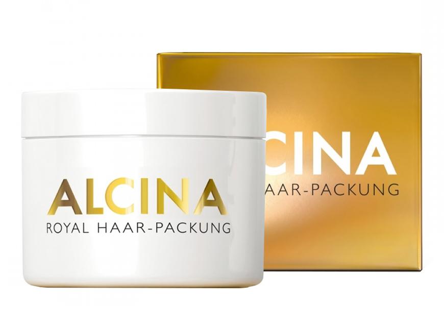 Alcina Royal – regenerační keratinová maska na vlasy 200ml