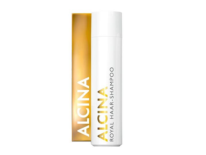 Alcina ROYAL – pěstící šampon na vlasy pro poškozené vlasy 250ml