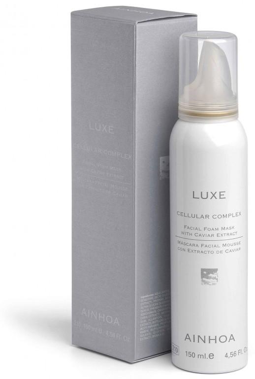 Ainhoa LUXE Cellular Complex Facial Foam Mask – pěnová maska na obličej s kaviárem 150ml