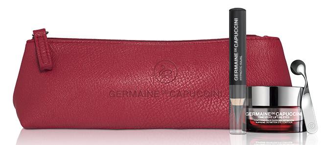 Germaine de Capuccini Timexpert Lift (IN) Stunning Look Sada - zpevňující krém na oční okolí 15ml + černá tužka na oči 2,48g + neceser