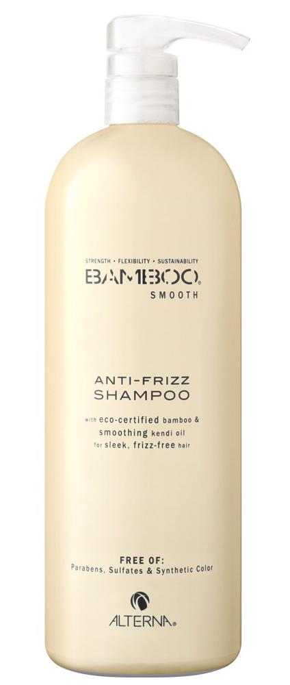 Alterna BAMBOO SMOOTH Anti-Frizz Shampoo - uhlazující šampon pro nepoddajné a krepaté vlasy 1000ml