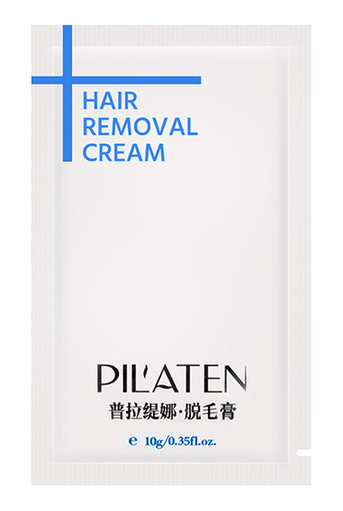 how to use pilaten hair removal cream