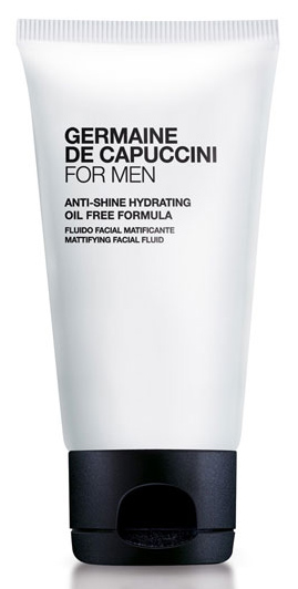 Germaine de Capuccini FOR MEN Anti-Shine Hydrating Fluid – pánský matující pleťový fluid 50ml