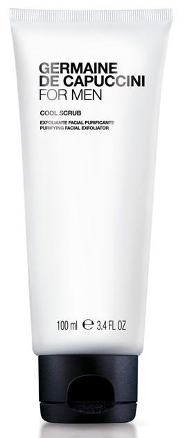 Germaine de Capuccini FOR MEN Cool Scrub – pánský pleťový čisticí exfoliant s mikrosférami 100ml