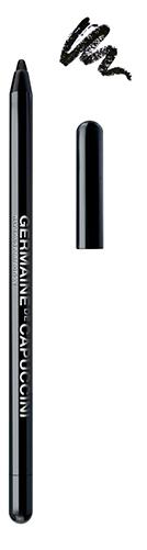 Germaine de Capuccini Lounge - černá voděodolná kajalová tužka na oči 0,5g