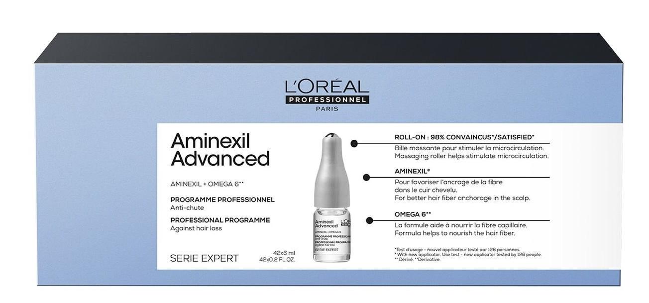 Loréal Professionnel Expert Aminexil Advanced - koncentrovaná kúra proti padání vlasů 10x6ml
