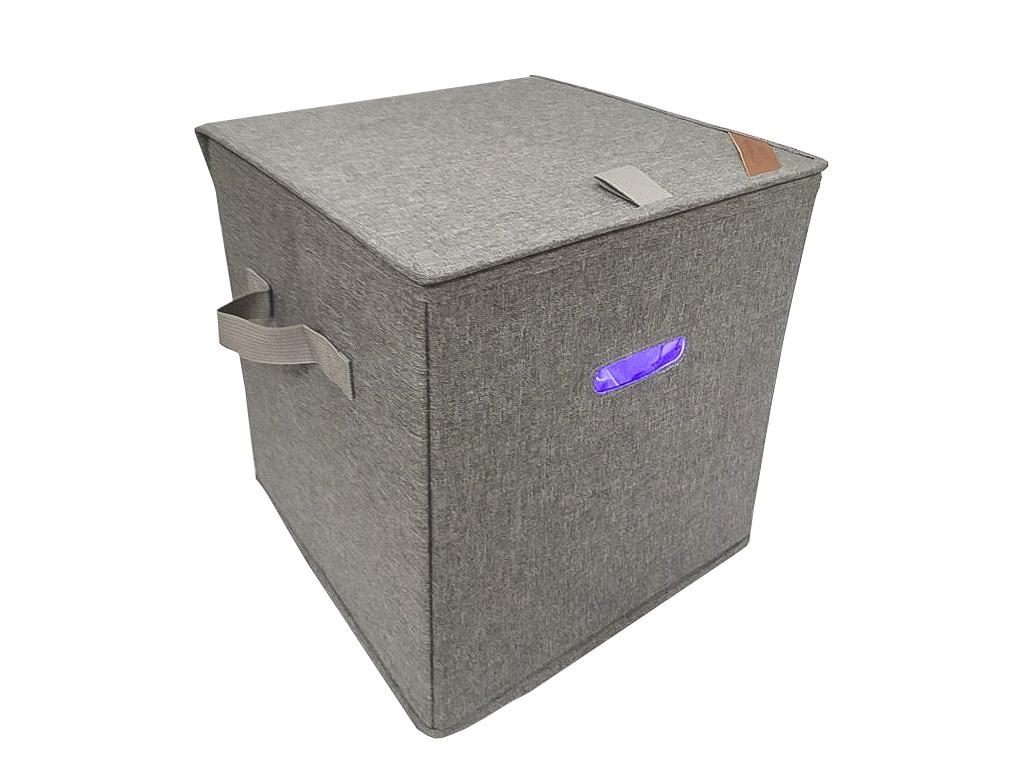Sterilizační box šedý MAX 27l
