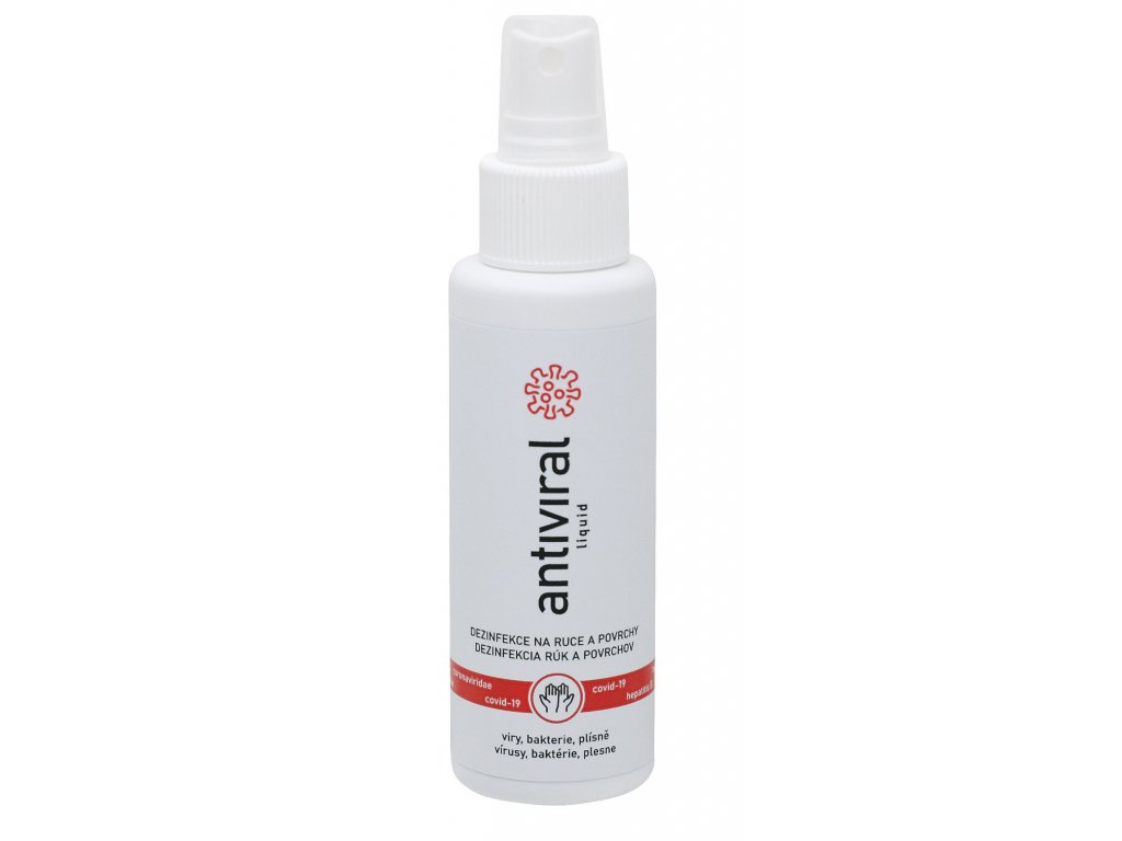 Tekutá dezinfekce Antiviral 100ml