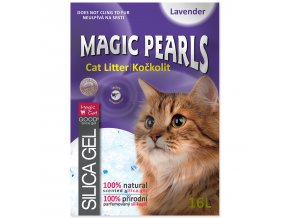 Kočkolit MAGIC PEARLS Lavender-16l
