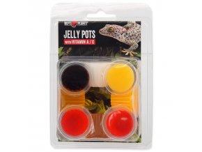 Krmivo REPTI PLANET Jelly Pots Mixed-8ks