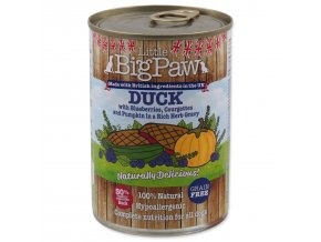 Konzerva LITTLE BIGPAW Dog kachna-390g