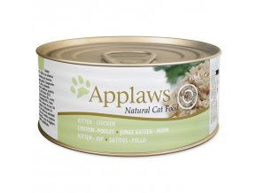 Konzerva APPLAWS Kitten Chicken-70g