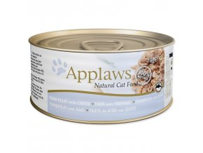 Konzerva APPLAWS Cat Tuna Fillet & Cheese-70g