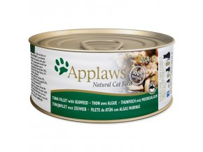 Konzerva APPLAWS Cat Tuna Fillet & Seaweed-70g