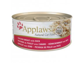 Konzerva APPLAWS Cat Chicken & Duck-70g